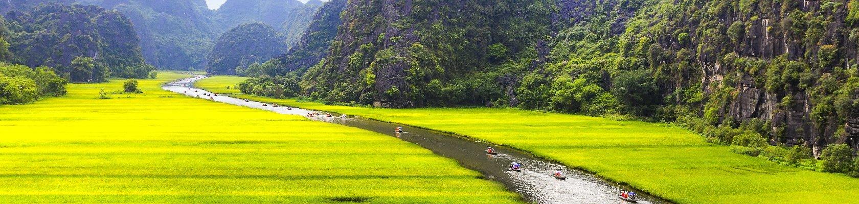 Karstgebergte van Ninh Binh
