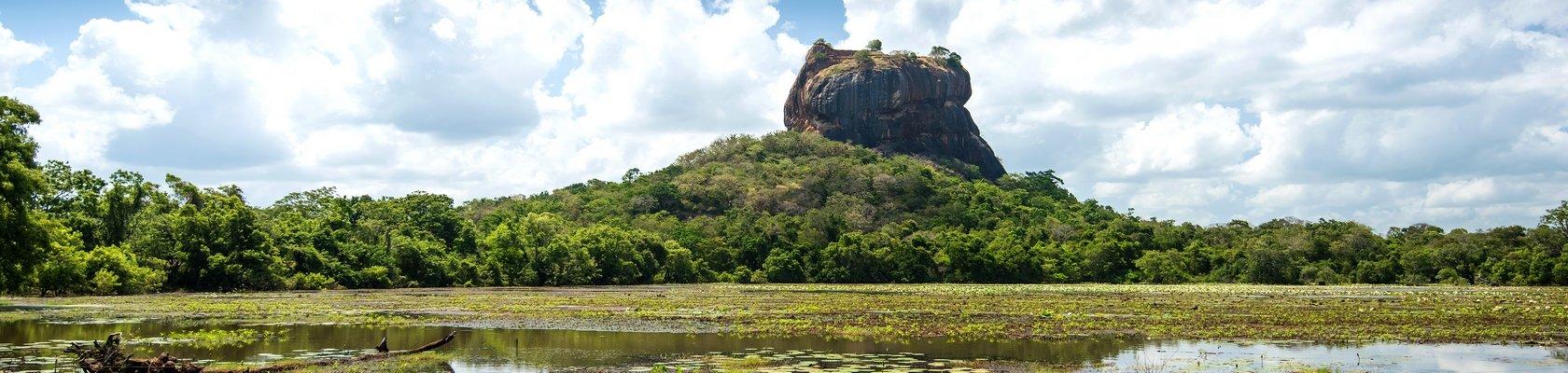 Sigiriya; de beroemde leeuwenrots