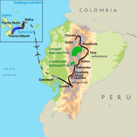 Groepsreis Ecuador