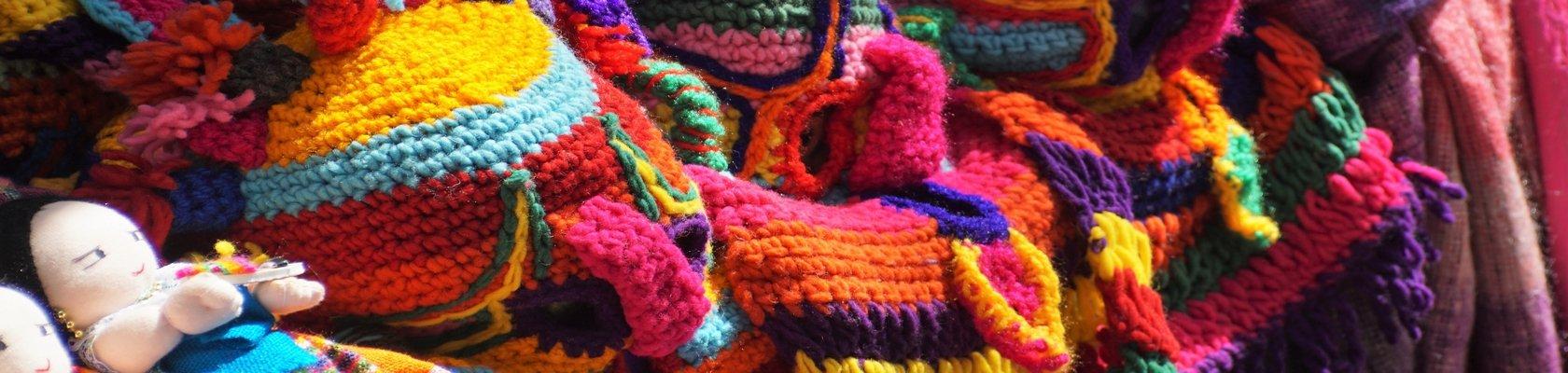 Otavalo indianenmarkt