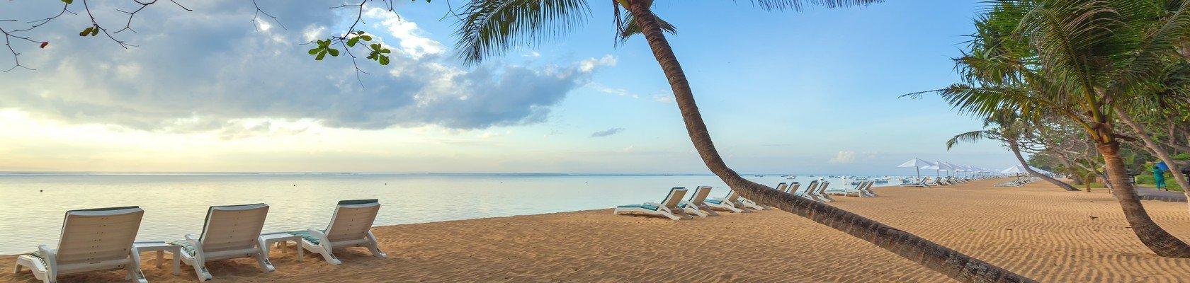 Sfeervolle strand van Sanur