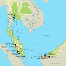 Wereldsteden, Borneo & Maleisië