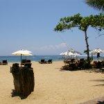 Strand Segara Village Sanur Indonesië