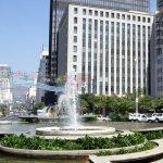 Overzicht Fountains Hotel Kaapstad Zuid Afrika