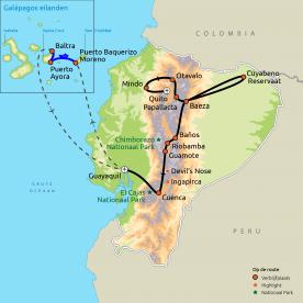 Ecuador Compleet incl. Galapagos